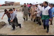 تولیت آستان قدس رضوی از مناطق سیلزده گلستان دیدن کرد