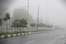 مه صبحگاهی شعاع دید را در اهواز به 50 متر کاهش داد