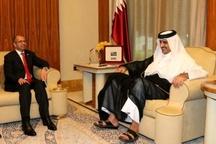 تاکید امیر قطر بر ارتقای روابط با عراق