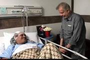 آخرین عیادت زندگی « بهرام شفیع »   روایت تاجگردون از آخرین وداع