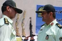 90 قبضه سلاح غیر مجاز در خوزستان کشف شد