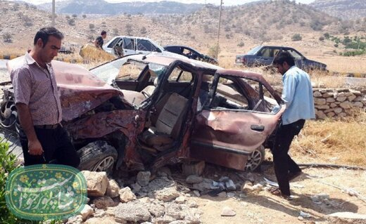 ۶ کشته و زخمی در حادثه رانندگی جاده سلسله-فیروزآباد