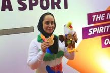 ساره جوانمردی دومین مدال طلای پاراآسیایی را کسب کرد