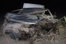 واژگونی خودروی سواری در عنبرآباد یک فوتی برجا گذاشت