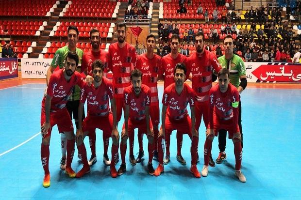 تیم فوتسال گیتیپسند اصفهان سوهان محمد قم را شکست داد