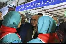 تجلی جشنواره خدمت در نمایشگاه دستاوردهای دولت در پارک مادر کرمان