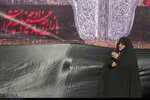 حرم برادر گرامی امام رضا میزبان عزاداران حسینی بود