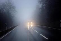 باران جاده های خراسان شمالی را لغزنده کرد