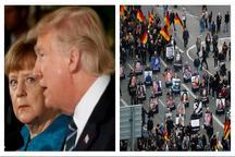 مردم آلمان از سیاست های ترامپ می ترسند