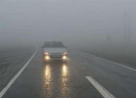 مه غلیظ دید افقی را در کردستان به کمتر از 50 متر کاهش داد