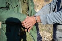 2 شکارچی غیرمجاز در طارم سفلی دستگیر شدند