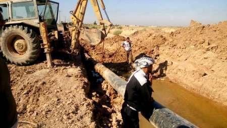 هشت روستای غرب کارون از نعمت آب طرح غدیر بهره مند شدند