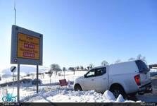 برف و بوران اروپا را فلج کرد+ تصاویر