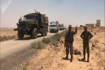 آزادی کامل نوار مرزی سوریه و اردن/ دفع حمله گروه های مسلح در شمال لاذقیه/بازگشت بیش از 200هزار آواره سوری به درعا