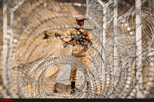 شهادت یک مرزبان در منطقه لار زاهدان در درگیری با اشرار