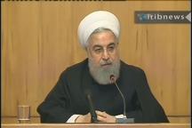 روحانی: مذاکره در صورت برداشتن فشارها و با احترام متقابل امکان پذیر است
