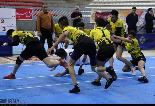 تیم های برتر رقابت های کبدی فارس مشخص شدند