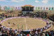 برگزاری مسابقات منطقه ای کشتی با چوخه در جوین