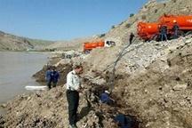 شکستن خط لوله اصلی انتقال و قطعی آب در همدان