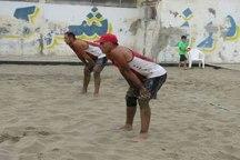 7 ورزشکار گلستان درتورجهانی والیبال ساحلی شرکت می کنند