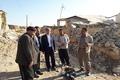 رئیس مجمع نمایندگان کردستان از مناطق زلزلهزده کرمانشاه بازدید کرد  تقدیر از کمک های مردم کردستان