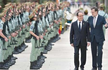 نشست چهارجانبه سران اروپایی در فرانسه