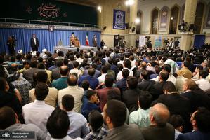 دیدار جمعی از پاسداران با رهبر معظم انقلاب