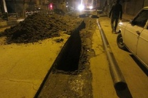 آب مناطقی از شهر رامهرمز قطع شد