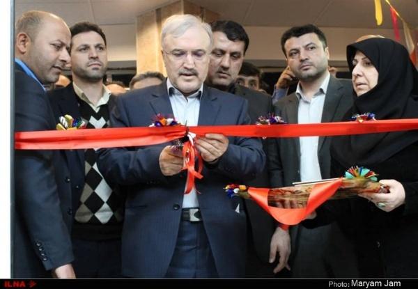 گشایش کلینیک ویژه تیپ ۲۰۰۰ بیمارستان امام خمینی اهواز