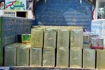کشف بیش از 2 تن عسل تقلبی در بردسکن