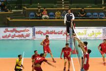 پنجمین روز از لیگ دسته یک والیبال جوانان کشور  سرگروهی تیم های آذربایجان غربی و گلستان