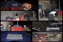 حمایت همسایگان از چادرنشین مشهدی