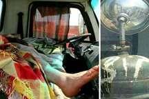قاتل خاموش جان راننده کامیون را گرفت