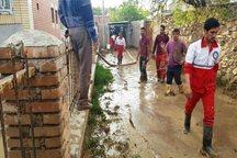 آب گرفتگی 110 واحد مسکونی دره شهر و بدره تخلیه شد