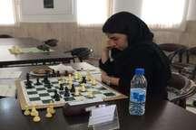 مسابقات شطرنج قهرمانی ایران  محدثه علیجان زاده به رقابت های جهانی راه یافت