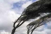 هواشناسی وزش بادشدید وباران برای البرز پیش بینی کرد