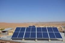 محلات عشایری نهبندان با پنل خورشیدی برق دار شدند