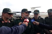 سپاه تا بهبود وضعیت در کنار سیل زدگان می ماند