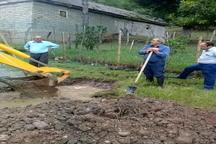 مرمت خط انتقال آب شرب 17 روستای شهرستان ماسال