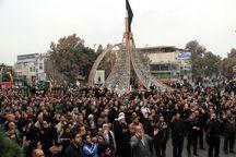 اجتماع بزرگ عزاداران ورامین در تاسوعا برگزار شد