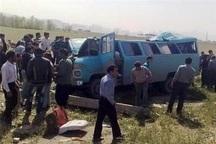 سانحه رانندگی در محور تبریز- آذرشهر 16 مصدوم برجای گذاشت