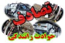 برخورد اتوبوس با تریلر در اتوبان پیامبر اعظم (س) تبریز