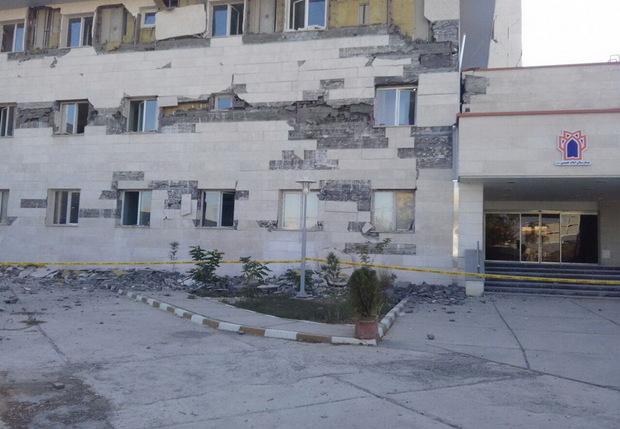 بیمارستان اسلام آبادغرب تخریب نمی شود
