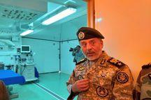 بیمارستان صحرایی ارتش در خسروی برپا شد