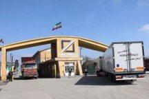 تردد بیش از 14 هزار کامیون از مرز آستارا
