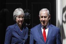 استقبال متفاوت از نخست وزیر رژیم صهیونیستی در انگلیس!+ تصاویر