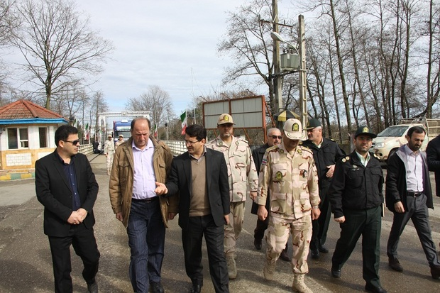 حقوق مرزی مردم آستارا در وزارت کشور پیگیری می شود