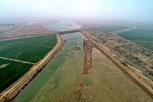 سیل با دبی یک هزار و820 مترمکعب بر ثانیه در هندیجان مهار شد