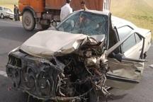 محموله مواد مخدر خودرو مسافرکش در صحنه تصادف لو رفت