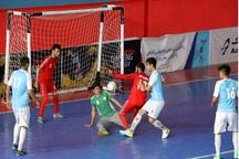 تمرین تیم صنایع میبد برای حضور در لیگ فوتسال کشور آغاز شد